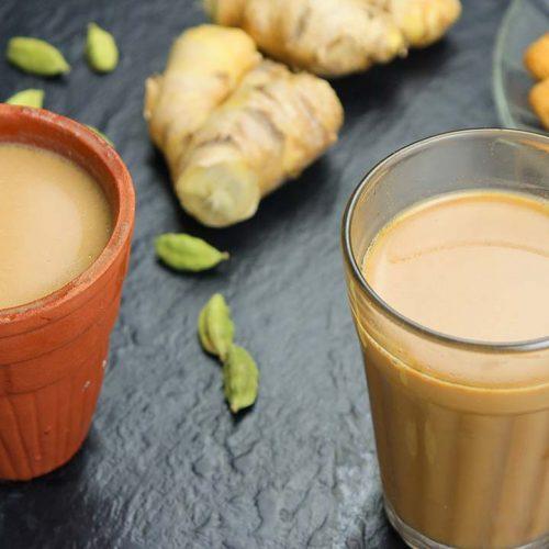Jaggery and masala tea