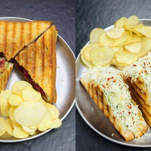 Veg grill sandwich